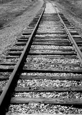 Train Tracks Reklamní fotografie - 400891