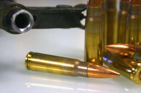 AK 47 And Ammo Reklamní fotografie