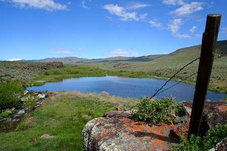 Moonstone Pond, Idaho