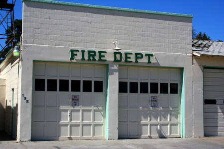 Rural Fire Dept. 版權商用圖片