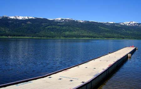 Cascade Lake Idaho Reklamní fotografie - 427065