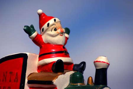 Antique Santa Reklamní fotografie