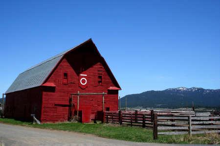 Idaho Barn Reklamní fotografie - 440207