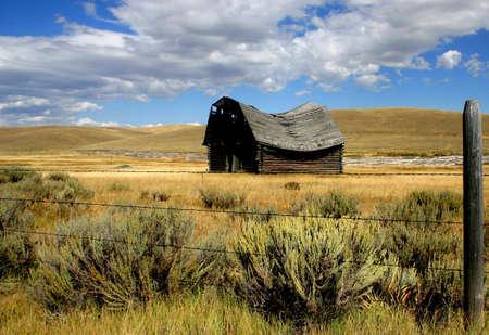 Montana Barn Reklamní fotografie - 440204