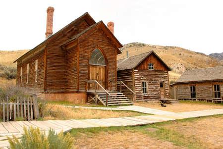 Church locvated in Bannack Montana