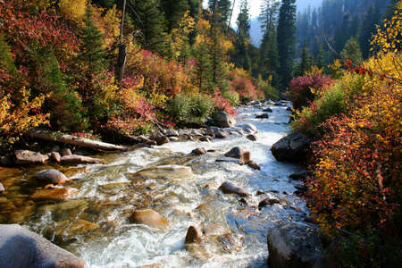 South fork of the Payette river, central Idaho Stock Photo