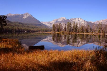 Located in the Sawtooth Mountain Range, Idaho Reklamní fotografie
