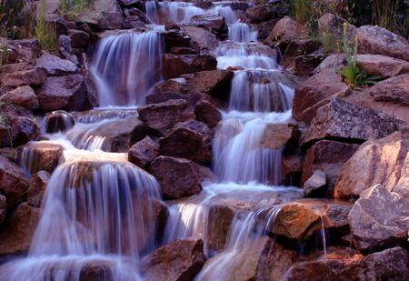 High Mountain Creek, Idaho Reklamní fotografie