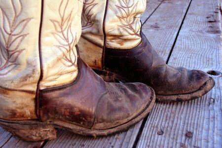 Muddy Cowboy Boots