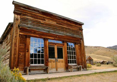 Saloon in historic Bannack Montana