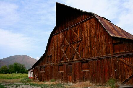 Rustic old barn located in Hailey Idaho Stock Photo - 3303628