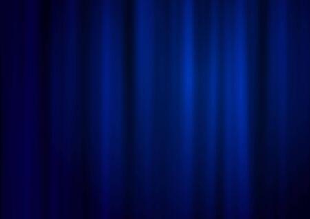 red velvet: Blue theatre curtain