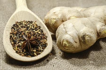 boehm: fresh juicy spicy ginger root
