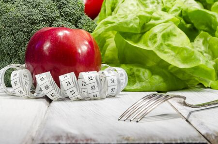 minerals food: Vegetable slimming healthy food full of vitamins and minerals Stock Photo