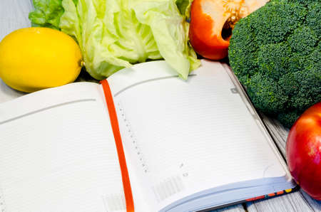 minerals: Vegetable slimming healthy food full of vitamins
