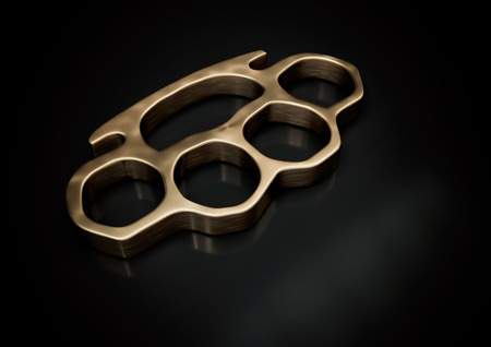knuckle-duster 3d illustration