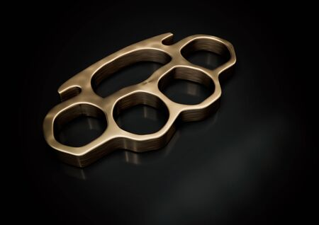 knuckle-duster 3d illustration