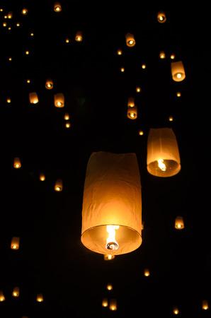 Loi Krathong festival chiang mai thailand