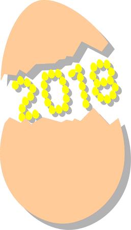 2018egg Illustration