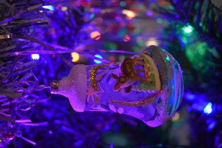 Retro christmas decoration