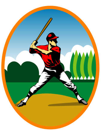 baseball stadium: baseball player