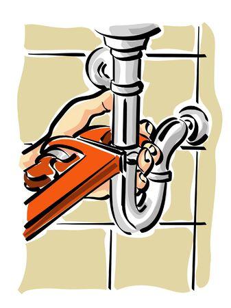 sink drain: hydraulic