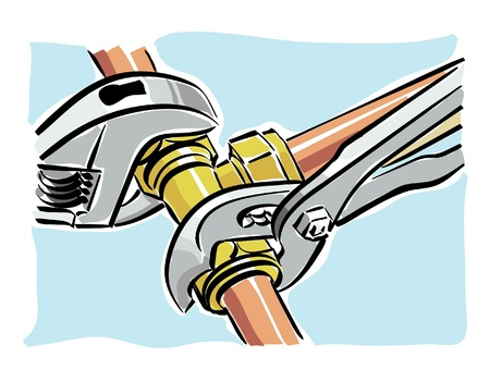 pipe wrench: hydraulic