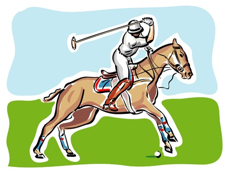 polo: Speler van het Polo