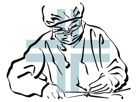 Surgeon Stock Vector - 14660874