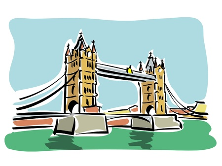 London  Tower bridge Stock Vector - 14950213