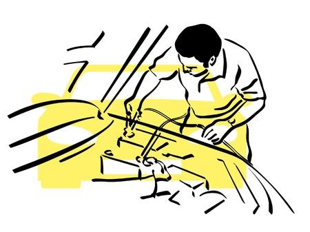 Auto repair Vector