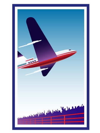 airplane Stock Vector - 15934065