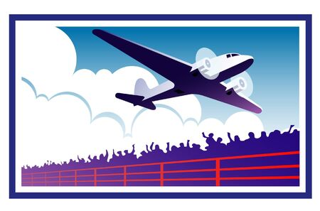 airplane Stock Vector - 15934070