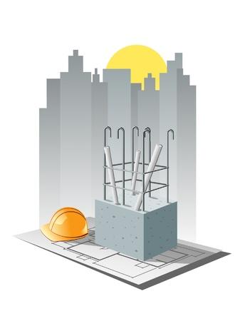 tower crane: construction