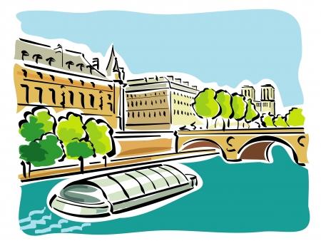 seine: Paris (Bateaux Mouches)