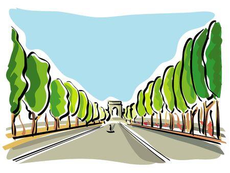 champs: Paris (Champs Elysees)