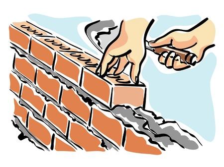 brick mason: mason