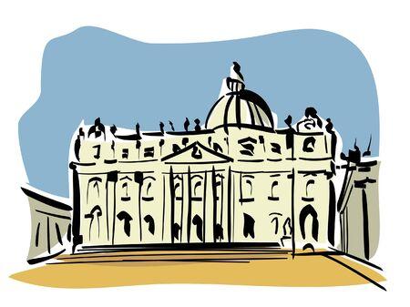 vatican: Rome  St  Peter s Basilica