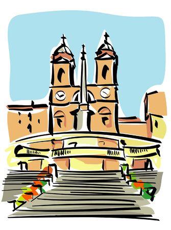 mannerism: Rome (Trinità dei Monti)
