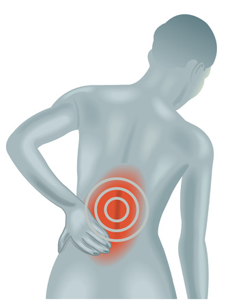 back pain Vector