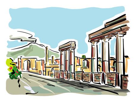 Pompeii Çizim