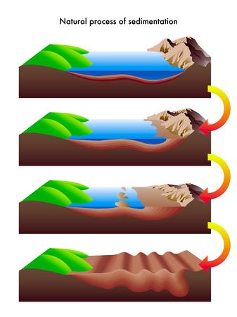 sedimentation: sedimentation