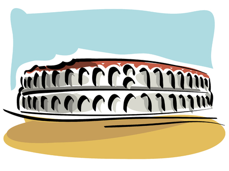 roman empire: the Verona Arena