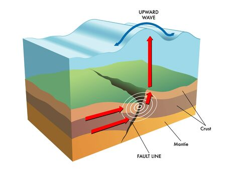 seismic activity: tsunami