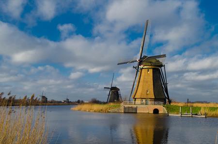 watermanagement: Windmills from Kinderdijk, Netherlands
