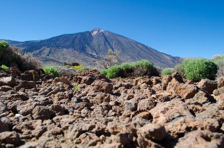 vulcano: El Teide vulcano from Tenerife, Spain