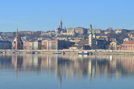 stephen: Fishermans Bastion & Matyas church in Budapest, Hungary