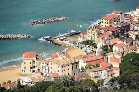 santa maria: Santa Maria view from Castellabate