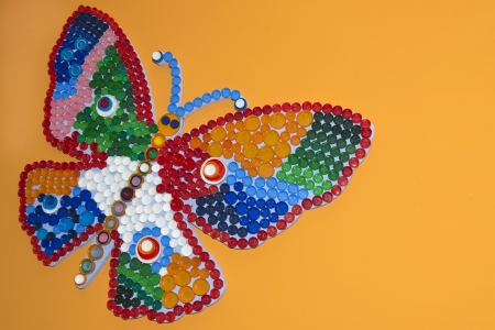 colorful butterfly photo