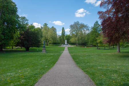 The Cenotaph in Christchurch Park, Ipswich, UK